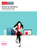 On the rise and online: Female consumers in Asia