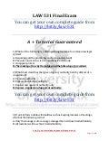 MGT 311 Final Exam | University of.