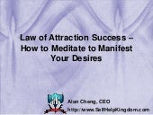 Law of Attraction Success – How to ...