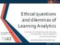Learning Analytics  – Ethical questions and dilemmas