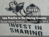 Law Practice in the Sharing Economy