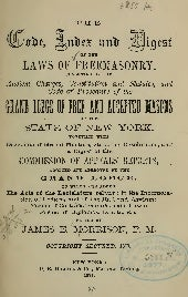 Laws of Freemasonry, Free eBook
