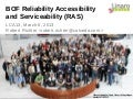 LCA13: BOF Reliability Accessibility and Serviceability (RAS)