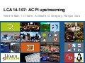 LCA14: LCA14-107: ACPI upstreaming