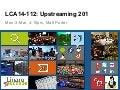 LCA14: LCA14-112: Upstreaming 201
