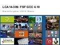 LCA14: LCA14-309: FSF GCC 4.10