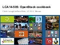 LCA14: LCA14-505: OpenStack cookbook