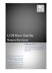 Rare Earths Industry Review Februar...