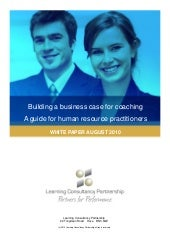 LCP building a business case for co...