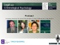 Legal and Criminological Psychology - Podcast