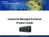 LCSI Industrial Managed Switch Prod...