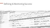 Content Strategy: Defining and Monitoring Success