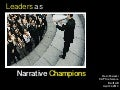 Leaders As Narrative Champions