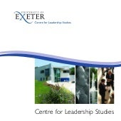 Leadership programmes brochure - Un...