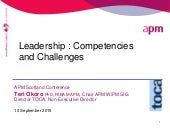 Leadership competencies and challenges (Teri Okoro) SCOT100915