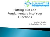 Putting Fun and Fundamentals into Y...