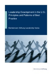 Leadership development in the us