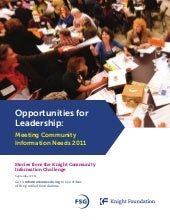 Opportunities for Leadership: Meeti...