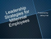 Leadership Strategies for Millennia...