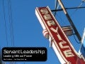 Servant Leadership: Leading Without Power