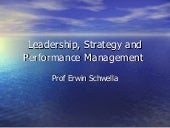 Leadership, Strategy and Performanc...
