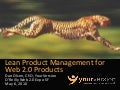 Lean Product Management for Web 2.0 Products