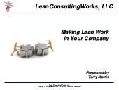 Making Lean Work in Your Company
