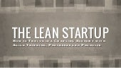 The Lean Startup - Optimal Digital ...