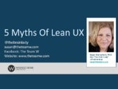 5 Myths of Lean UX