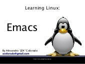Learn Linux: Emacs