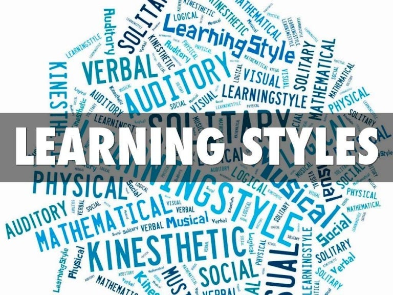 vak learning styles explanation