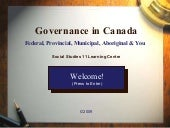 Learning Centre Governance In Canada