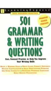 Learning express 501 grammar & writ...