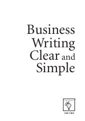 Learning express business writing c...