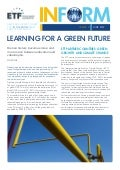 Learning for a green future