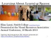 Learning About Learning Spaces
