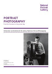 history of portrait photography