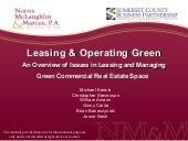 Leasing & Operating Green