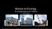 Intro on different waste treatment ...