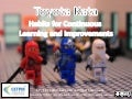 Toyota kata in knowledge work - European Lean Educator Conference 2014
