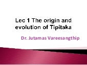 1 the origin, evolution and meaning...