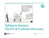 Talking to Humans: The Art of Customer Discovery