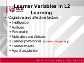 learner variables in language lear...