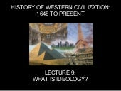 H114 Meeting 9: What is an Ideology