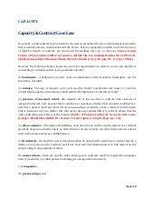 Lecture 9   capacity - notes and cases