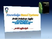 Knowledge Based Systems -Artificial...