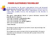 Lecture note macine & drives (power...