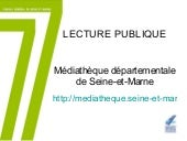 Lecture publique md77