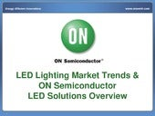 LED Lighting Market Trends & ON Sem...