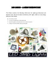 Led lights   a brief introduction
